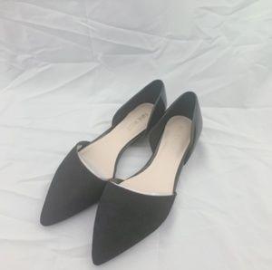NINE WEST WOMEN'S Shelbyo BLACK D'orsay Flats